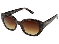 Steve Madden Frankie Leopard Fashion Sunglasses Animal Print