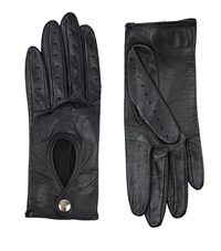 Harrods Of London Leather Driving Gloves Female