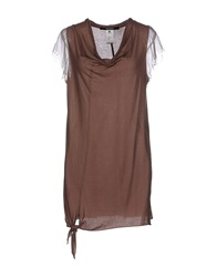 Devotion T Shirts Light Brown