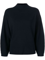 Aspesi Turtleneck Jumper Blue