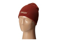 Oakley Factory Flip Beanie Burnt Henna Beanies Orange