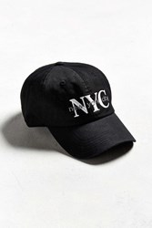 Urban Outfitters Nyc Baseball Hat Black