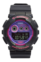 G Shock Digital Watch 50Mm Pink Black