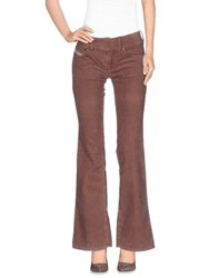 Diesel Trousers Casual Trousers Women Light Brown