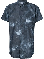 Chapter Tie Dye Denim Shirt Blue