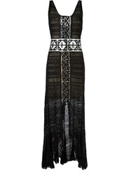 Cecilia Prado Knit Maxi Dress Black