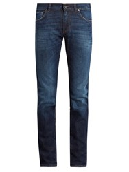 Dolce And Gabbana Five Pocket Slim Leg Jeans Denim