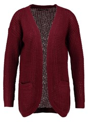 Only Onlemma Cardigan Windsor Wine Dark Red
