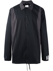Adidas Originals White Mountaineering Long Bench Jacket Black