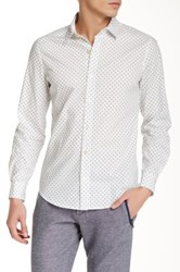 Parke And Ronen Lowell Long Sleeve Slim Fit Shirt White