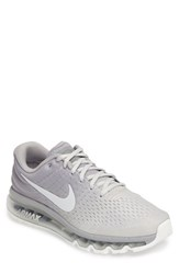 Nike Men's Air Max 2017 Running Shoe Matte Silver Bone White