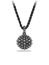 David Yurman Osetra Pendant Necklace With Faceted Hematite Black