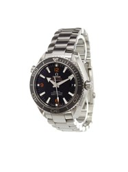 Omega 'Seamaster Planet Ocean' Analog Watch Stainless Steel