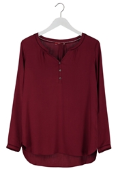 Edc By Esprit Tunic Red Colourway Bordeaux