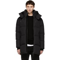 Mackage Ssense Exclusive Black Mitch Parka