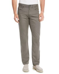 Peter Millar 5 Pocket Soft Touch Twill Pants Gray