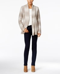 Styleandco. Style Co. Shawl Collar Striped Cardigan Only At Macy's Neutral Combo