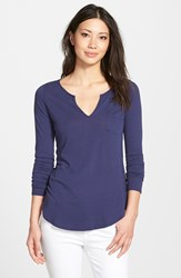 Women's Lamade Split Neck Tee Galaxy