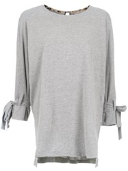 Sissa Dalia Straight Fit Blouse Grey