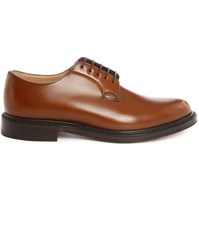 Church's Camel Shannon F Smooth Leather Derbies