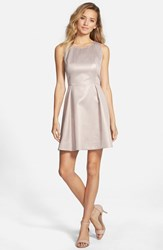 Junior Women's Frenchi Metallic Skater Dress