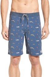 Men's Katin 'Lures' Print Board Shorts