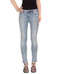 Tommy Hilfiger Denim Denim Denim Trousers Women Blue