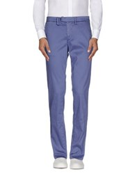 Haikure Trousers Casual Trousers Men Slate Blue