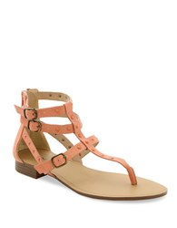 Kensie Billie Sandals Coral