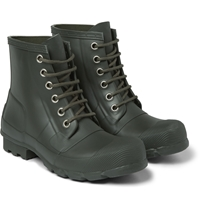 Hunter Rubber Lace Up Boots