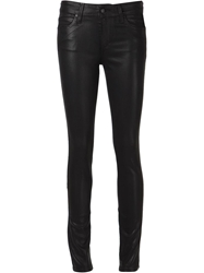 Joe's Jeans Mid Rise Legging Trousers Black
