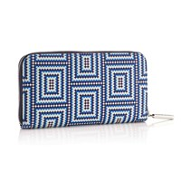 Mark Giusti Long Classic Wallet Printed Leather