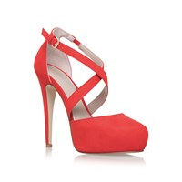 Carvela Kassie High Heel Sandals Orange