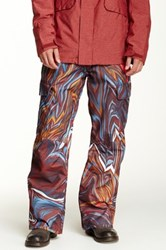 Quiksilver Porter Insulated Snow Pant Red