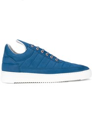 Filling Pieces Padded Sneakers Blue