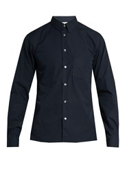 Acne Studios York Cotton Shirt Navy