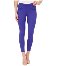 Hue Satin Jersey Skimmer Purple Reign Women's Casual Pants Red