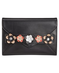 Inc International Concepts Blaaire Floral Clutch Only At Macy's Black