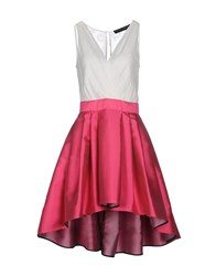 Christian Pellizzari Dresses Short Dresses Women Fuchsia