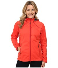 Outdoor Research Linchpin Hooded Jacket Flame Women's Coat Orange