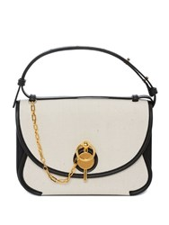 J.W.Anderson Jw Anderson Calico Keyts Bag With Contrast Bind Black