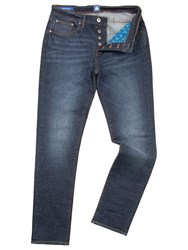 Pretty Green Erwood Slim Fit Jean Blue
