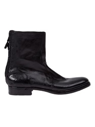 L'eclaireur Made By Distressed Boots Black