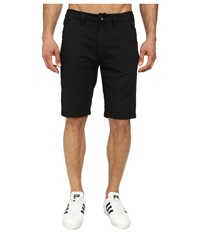 Adidas Sport Luxe Twill Short Black Red Night Flash Men's Shorts