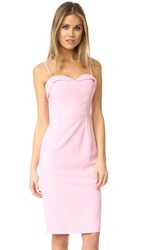 Black Halo Clover Sheath Dress Ice Pink