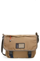 Marc By Marc Jacobs 'Davey' Nylon Messenger Bag Dark Moss Brown