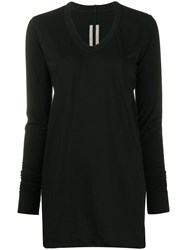 Rick Owens Long Sleeve Fitted Jumper 60
