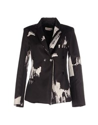 Eggs Suits And Jackets Blazers Women Black