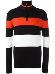 Mcq By Alexander Mcqueen Block Stripe Jumper Black