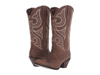 Durango Jealousy 13 Wide Calf Bomber Brown Women's Boots